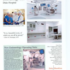 Duke Endourology Operating Suite